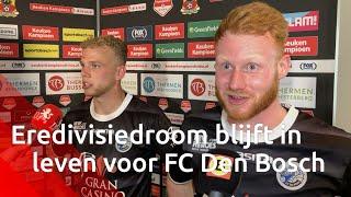 Bosschenaar Van der Sande hoopt op eredivisie met FC Den Bosch: 'Sinds ik er ben is dat er nog ni...