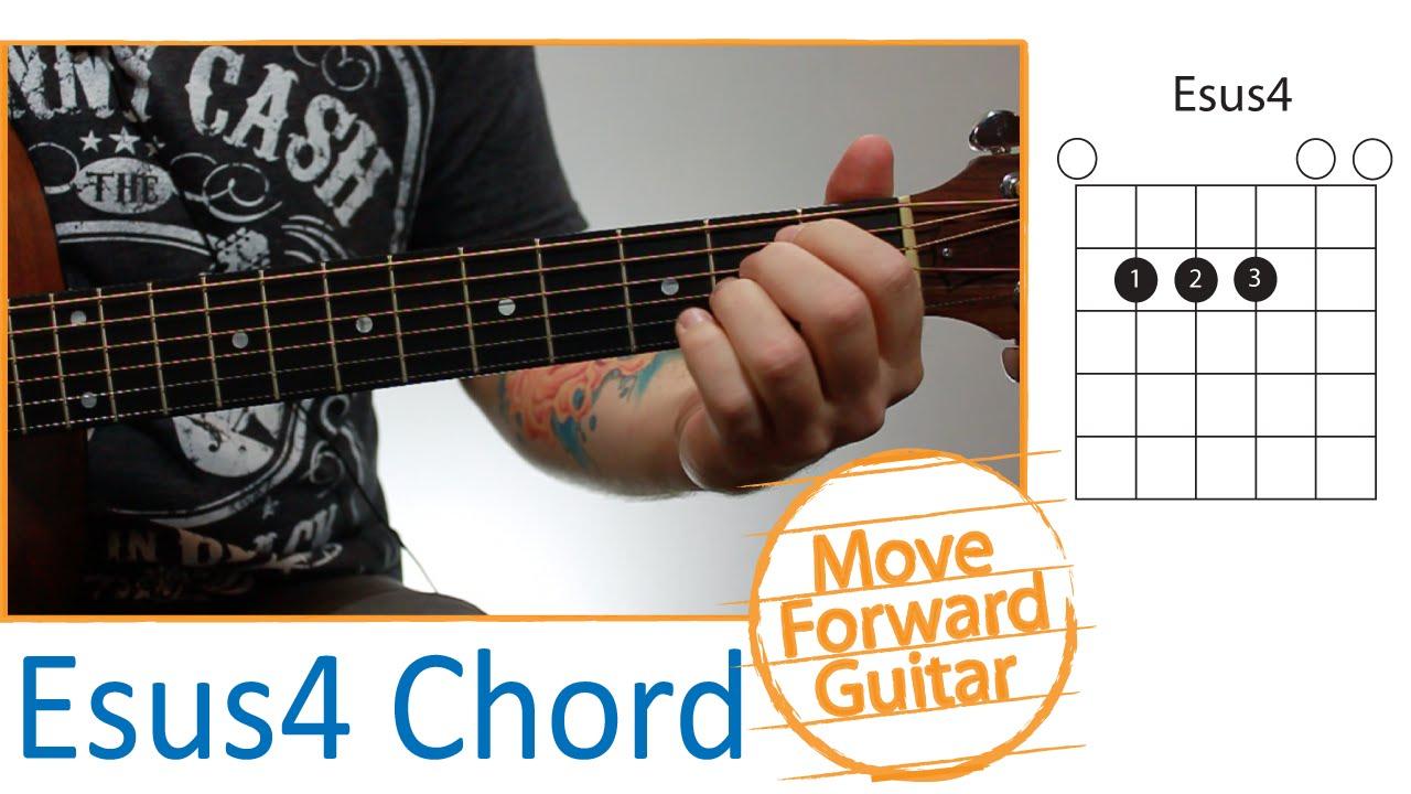 Guitar Chords For Beginners Esus4 Youtube