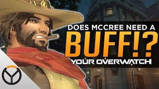 Overwatch: Does McCree Need A Buff?
