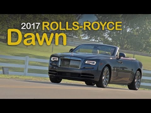 2017 Rolls-Royce Dawn Review: Curbed with Craig Cole