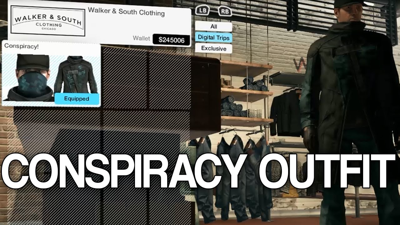 Watch Dogs Conspiracy Outfit