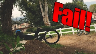 FAIL! Learning How to Whip a Mountain Bike (Bike Vlog S2 Episode 15)