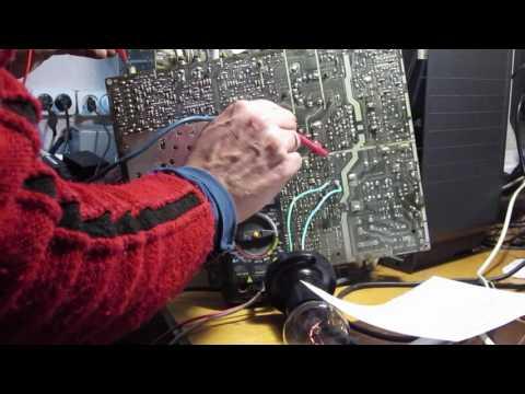 видео: sharp 21l-sc + схема не включается.