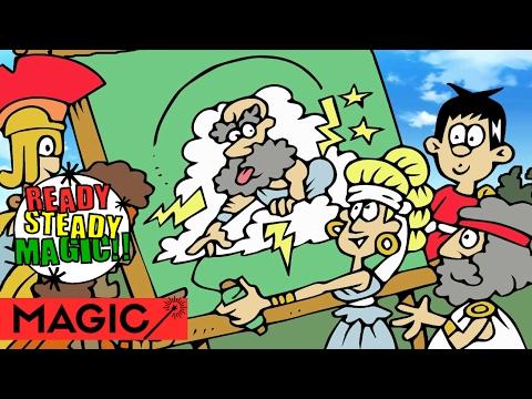 Arachne the Weaver | Greek Mythology | Storytelling Magic Cartoon #1 | Ready Steady Magic