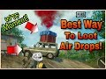 Pubg Mobile : How To Get Air Drops Easily OR Just STEAL IT! | WTF MOMENT! LOL🤣😂