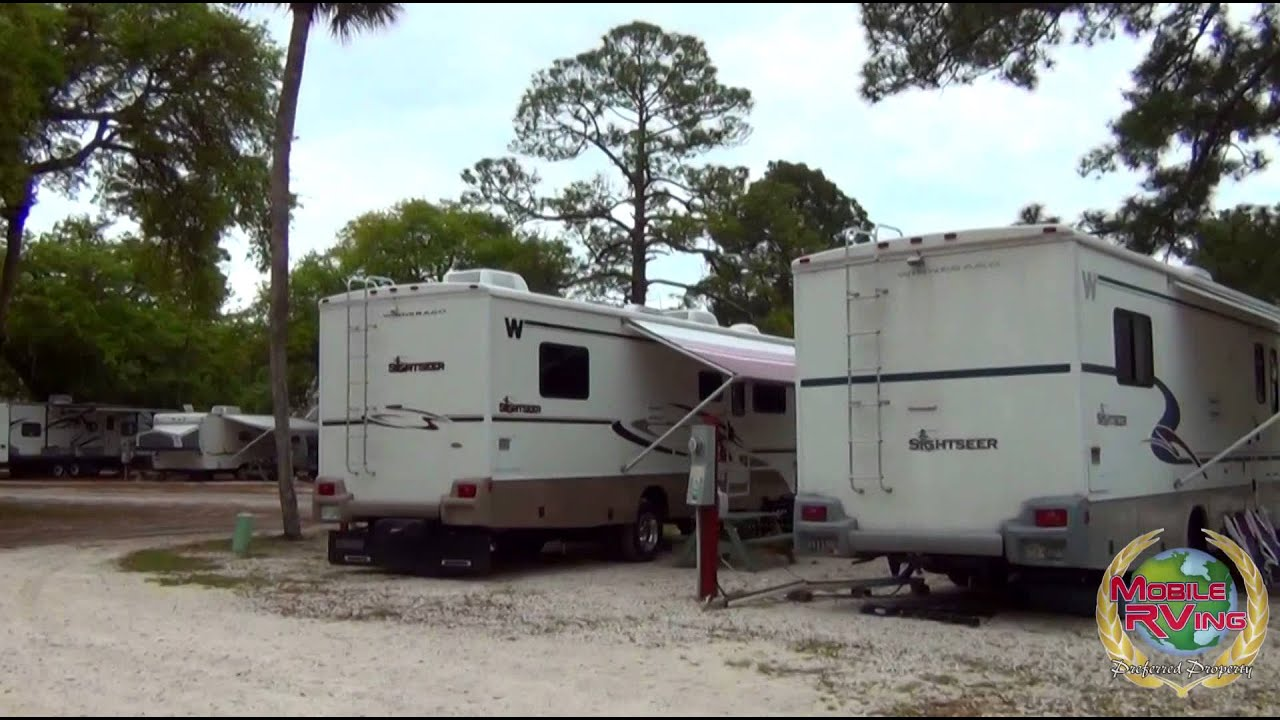 River S End Campground Amp Rv Park Tybee Island Ga Youtube