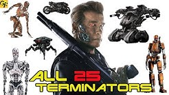 All 25 TERMINATOR Models Explained