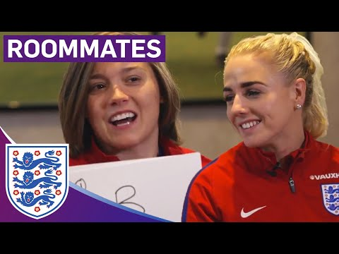 Who Does Alex's Boyfriend Play For? | Fran Kirby and Alex Greenwood | Roommates