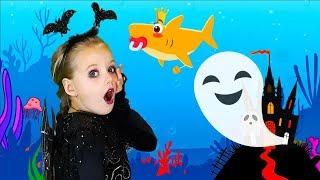 Baby shark   Halloween Song   Nursery Rhymes & Kids Songs by Olivia Kids Tube