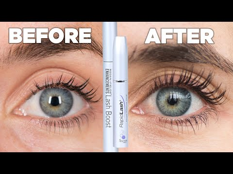 Women Try Eyelash Growth Serum For A Month thumbnail