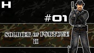 Soldier of Fortune 2 Walkthrough Part 01 [PC]