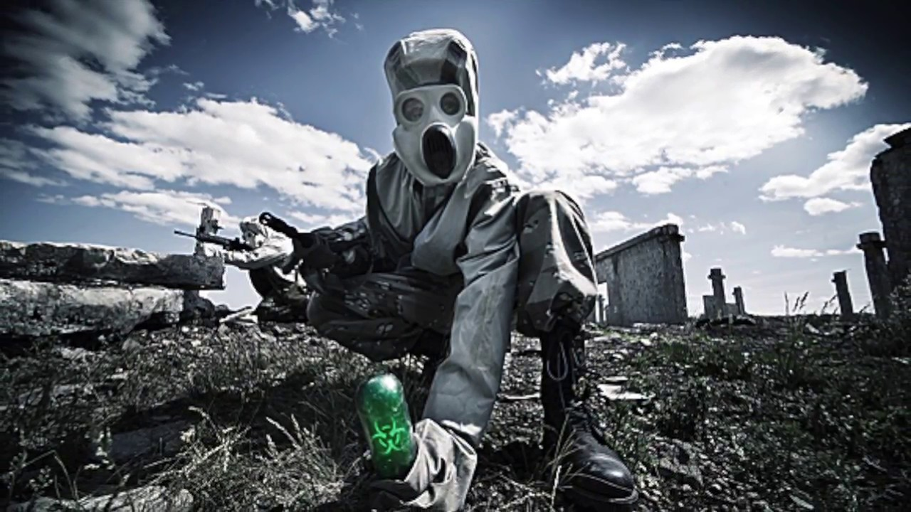 Gasmask terror chemical warfare nuclear holocaust