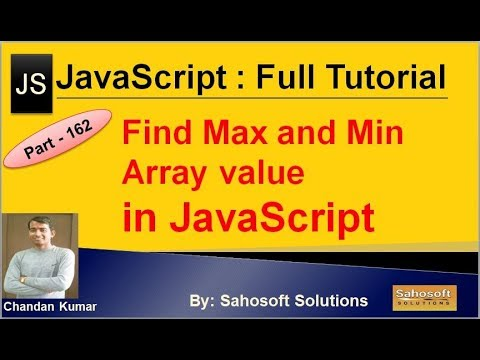 Find Max and Min array value in JavaScript | JavaScript Full Tutorial in Hindi thumbnail