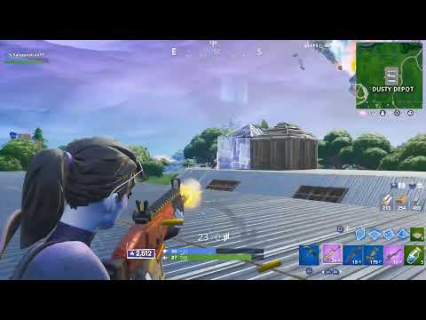 Fortnite Battle Royale Ps4 Console Player Solo Arena Gameplay