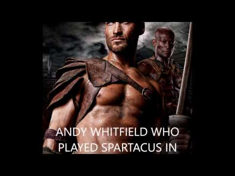 Kirk Douglas Turns Andy Whitfield Who Also Played Spartacus