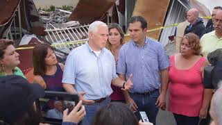Vice President Pence and Mrs. Pence Visit Puerto Rico and the US Virgin Islands