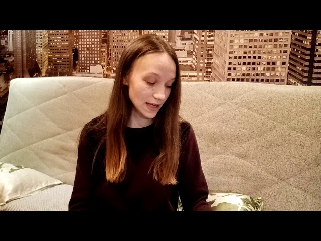Бугреева Кристина читает произведение «Еще утро не скоро, не скоро» (Бунин Иван Алексеевич)