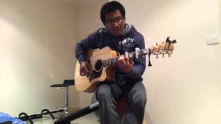 Tuhan pasti sanggup (cover, guitar)