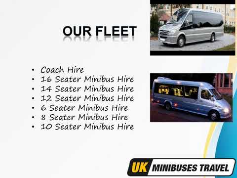 Book Minibus Online & Airport Transfers Services in London