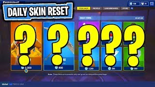 The NEW Daily Skin Items In Fortnite: Battle Royale! (Skin Reset #32)