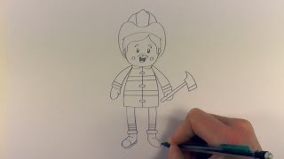 R.E.A.P: How to Draw a Cartoon Fireman