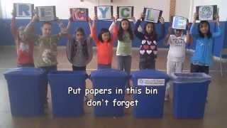 Reduce, Reuse, Recycle - Music Video Class of 2011/2012
