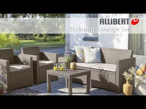 Allibert Alabama lounge set Assembly video - YouTube