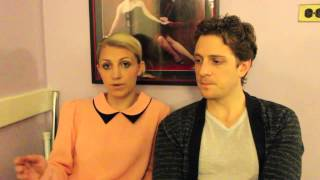Exclusive backstage interview with Andy Kelso and Annaleigh Ashford of 'Kinky Boots'
