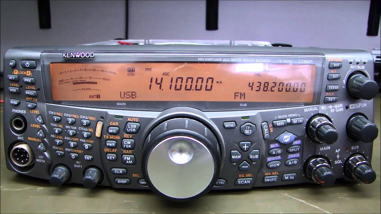 ALPHA TELECOM: KENWOOD TS-2000 TROCA DA UNIDADE LÓGICA