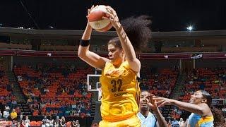 Amanda Zahui B. Scores First Career Points for Tulsa Shock