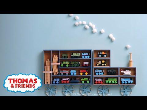DIY Thomas Train Shelves! Room Decor For Kids! | Thomas U0026 Friends Crafts |  Thomas U0026 Friends