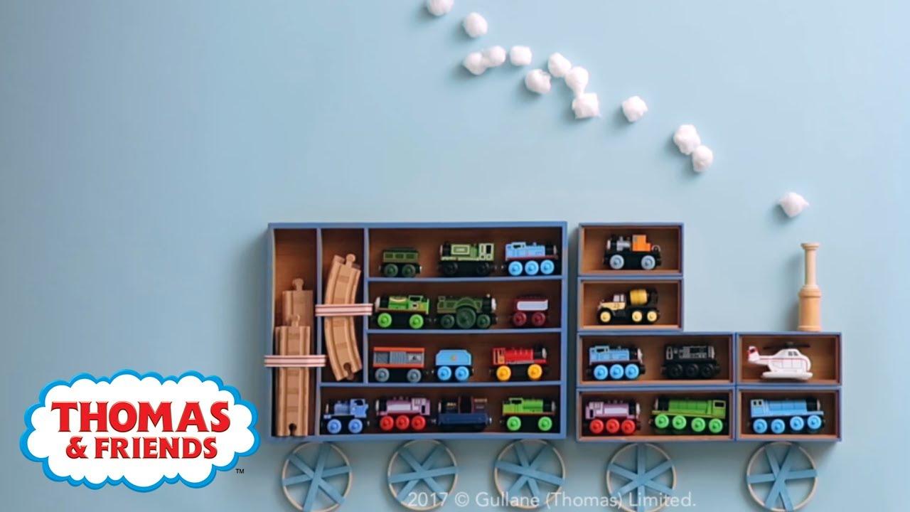 Diy Thomas Train Shelves Room Decor
