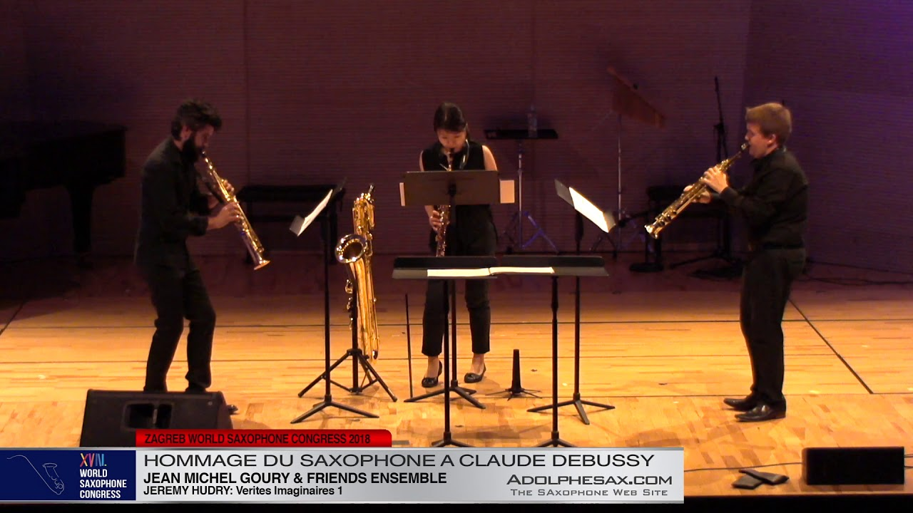 Verités Imaginaires 1 by Jeremy Hudry   Jean Michel Goury & Friends Ensemble  XVIII World Sax Congr