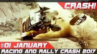 Racing and Rally Crash Compilation Week 1 January 2017 Dakar Special