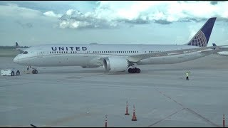 UNITED AIRLINES Boeing 787-9 / Los Angeles to Houston / 4K Video