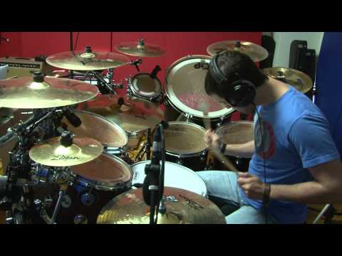With Everything (Live) - Hillsong United (Drum Cover)