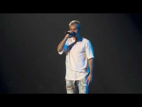 No Sense - Justin Bieber (Jacksonville 6-29-16) PURPOSE TOUR