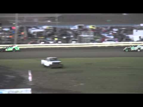 Shiverfest Sport Mod Heat 2 Lee County Speedway 10/25/14