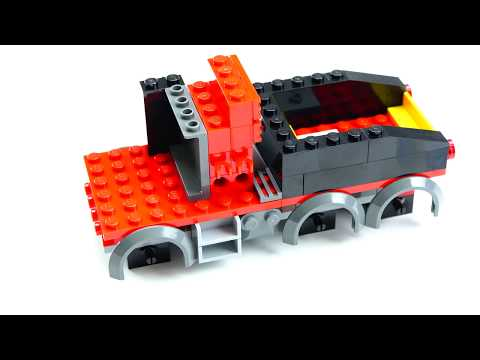 Lego Toy Trucks Time-lapse Build