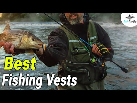 10 Best Fishing Vests In 2019 : An Angler's Perfect Guide