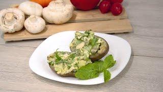 Фаршированный картофель. Простые продукты - необыкновенный вкус/ Stuffed potatoes