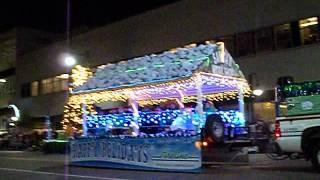 Appleton Christmas Parade- Fireline Sprinkler Float