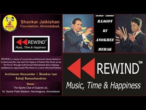 Rewind Presents   Raag Bhairavi Song Medley Based On Dadra Beat In Shankar   Jaikishan's  !