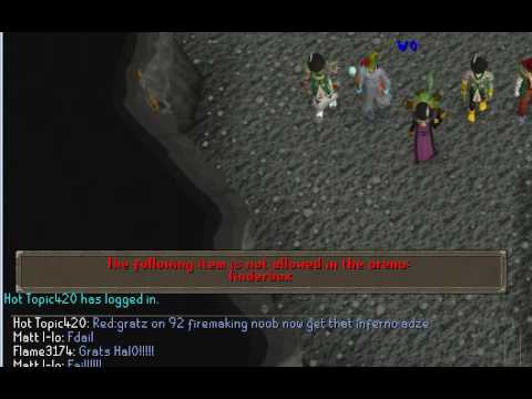 Me Getting 92 Firemaking
