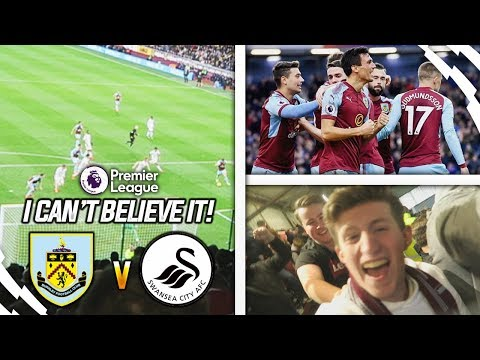I AM ABSOLUTELY SPEECHLESS!! - BURNLEY 2-0 SWANSEA VLOG!!