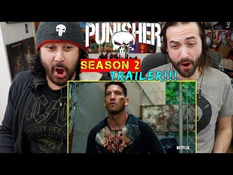 Marvel's THE PUNISHER: SEASON 2 | Official TRAILER - REACTION!!!