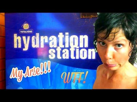 HYDRATION STATION MY ARSE!! STUPID UNI!!