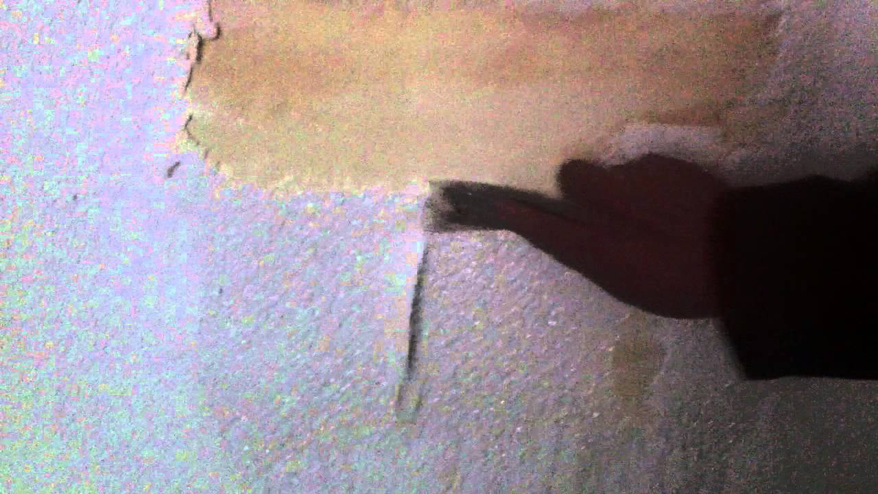 Decapage crepis sur mur en platre ecodecap5 youtube for Crepis interieur