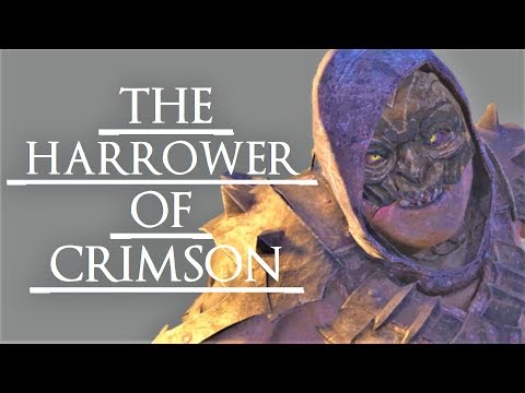 Shadow of War: Middle Earth™ Unique Orc Encounter & Quotes #209 THIS CRIMSON HARROW MYSTERY URUK!  