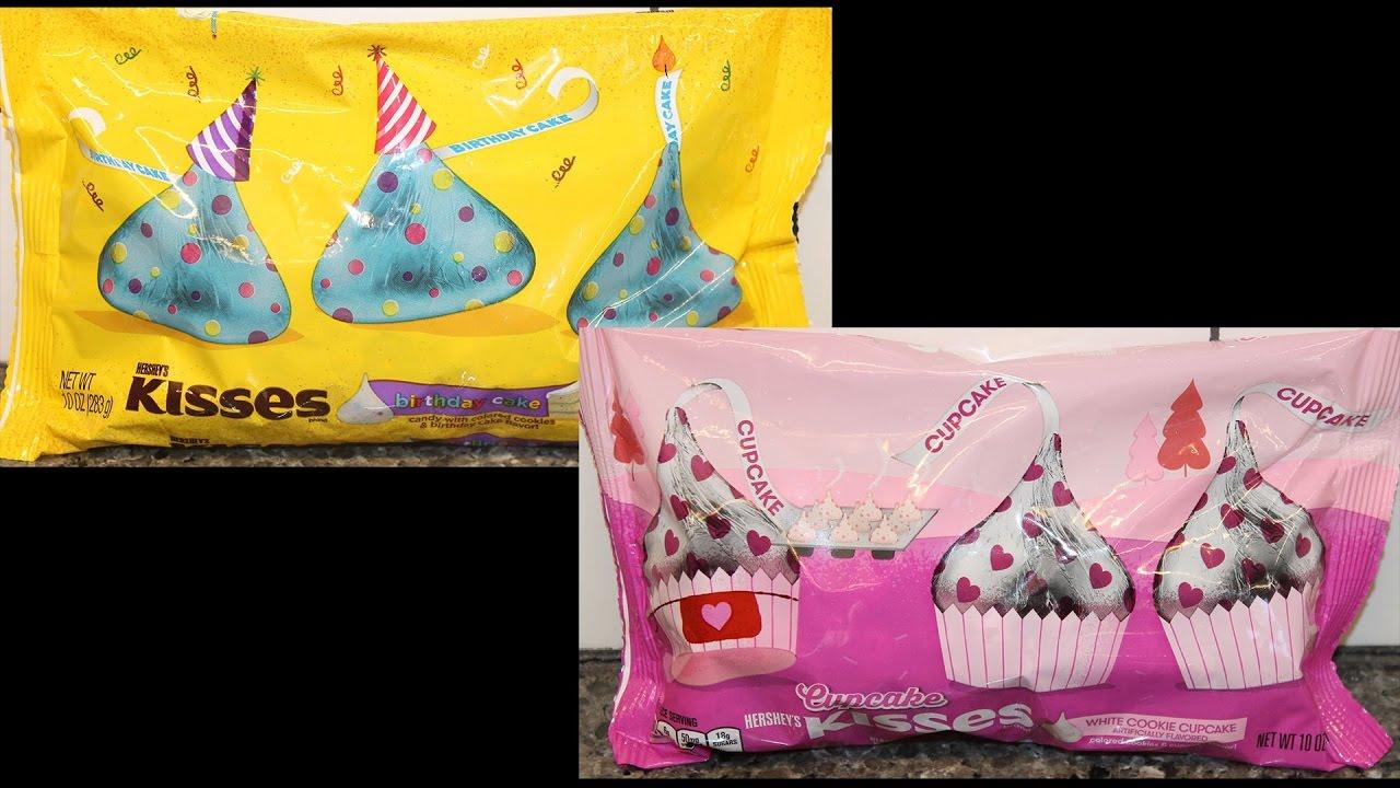 Hersheys Birthday Cake Kisses Vs Cupcake Blind Taste Test